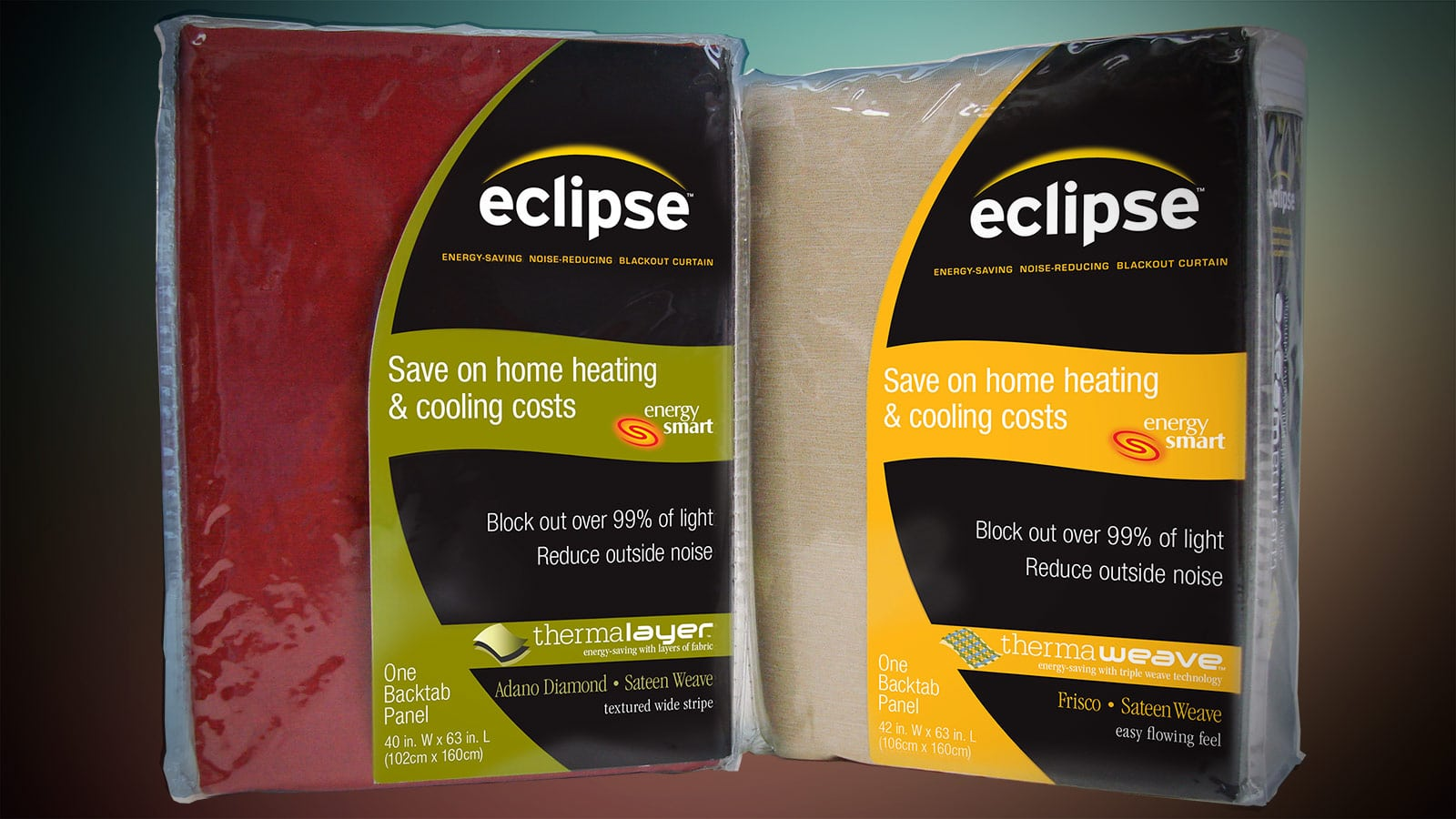 Eclipse brand curtains product line