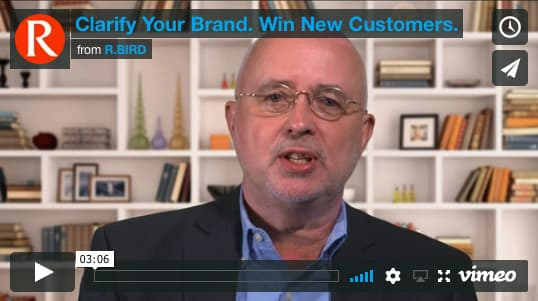 Clarify your brand to win new customers video